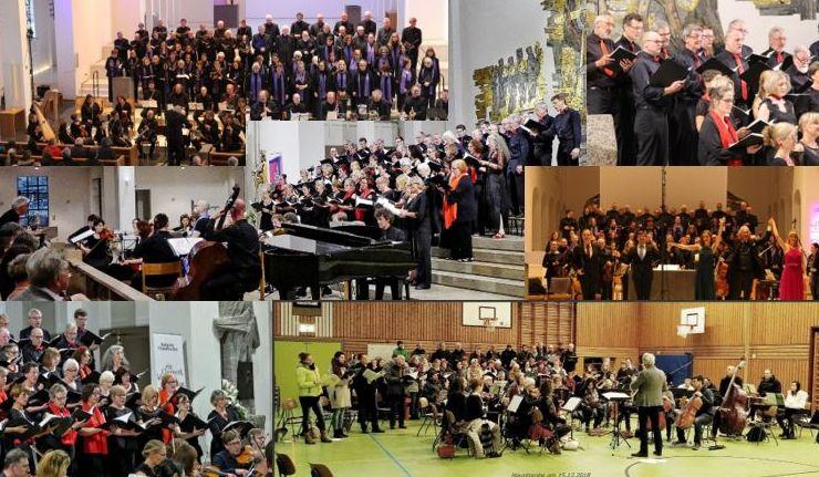 Konzert-Collage